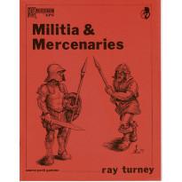 Militia & Mercenaries (jdr Runequest 2nd Edition de Chaosium en VO)