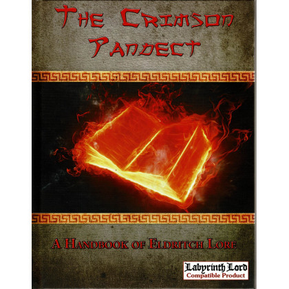 The Crimson Pandect - A Handbook of Eldritch Lore (jdr OSR - Labyrinth Lord en VO) 001