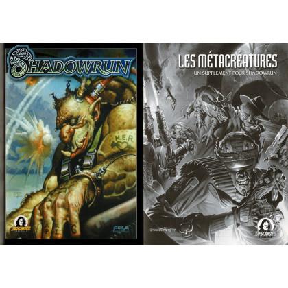 Shadowrun - Ecran et livret (jdr 3e édition de Jeux Descartes en VF) 007