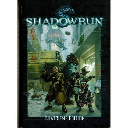 Shadowrun - Livre de base Quatrième Edition (jdr BlackBook Editions en VF) 002