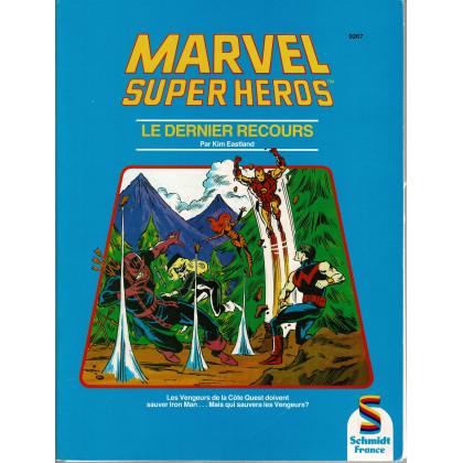 Le Dernier Recours (jdr Marvel Super Héros de Schmidt France en VF) 001
