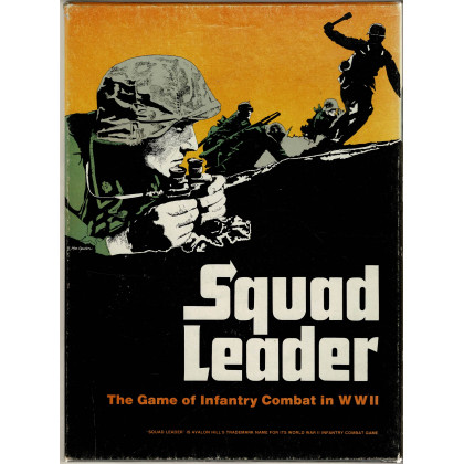 Squad Leader - The game of infantry combat in WWII (wargame Avalon Hill en VO) 003