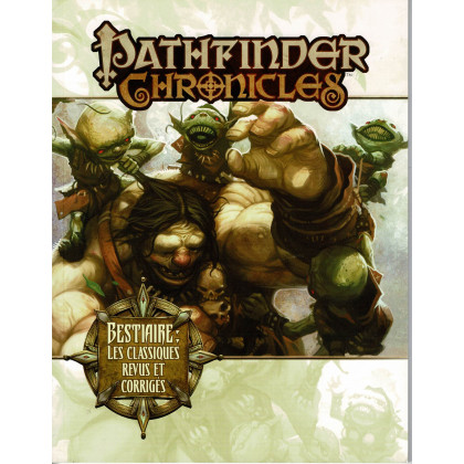 Bestiaire - Les classiques revus et corrigés (jdr Pathfinder Chronicles en VF) 003