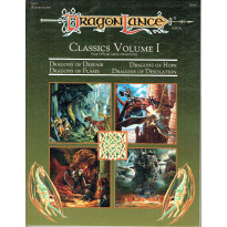 DLC1 Dragonlance Classics Volume I (jdr AD&D 2e édition en VO)