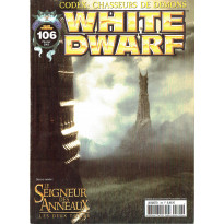 White Dwarf N° 106 (magazine de jeux de figurines Games Workshop en VF)