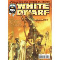 White Dwarf N° 105 (magazine de jeux de figurines Games Workshop en VF)