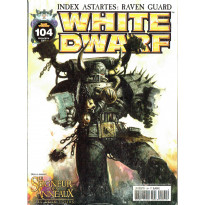 White Dwarf N° 104 (magazine de jeux de figurines Games Workshop en VF)