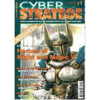 CyberStratège N° 1 (Le Magazine des Jeux de Stratégie sur PC, console et en ligne) 001