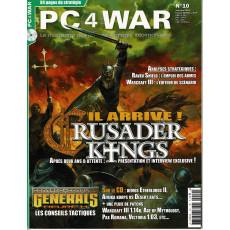 PC4WAR N° 10 (Le Magazine des Jeux de Stratégie informatiques)