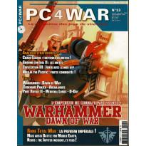 PC4WAR N° 13 (Le Magazine des Jeux de Stratégie) 001