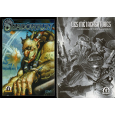 Shadowrun - Ecran et livret (jdr 3e édition de Jeux Descartes en VF)