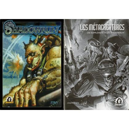 Shadowrun - Ecran et livret (jdr 3e édition de Jeux Descartes en VF) 008