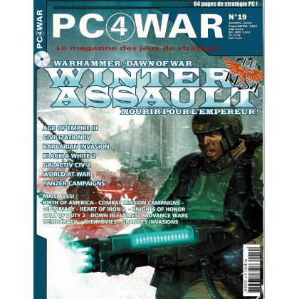 PC4WAR N° 19 (Le Magazine des Jeux de Stratégie informatiques) 001