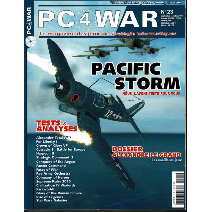 PC4WAR N° 23 (Le Magazine des Jeux de Stratégie informatiques) 001