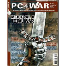 PC4WAR N° 24 (Le Magazine des Jeux de Stratégie informatiques)
