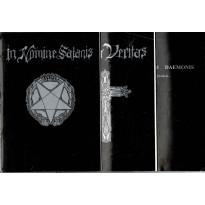 In Nomine Satanis / Magna Veritas - Contenu boîte de base (jdr 1ère édition Siroz en VF)