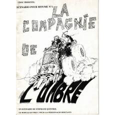 La Compagnie de l'Ombre (jdr Bitume 2e édition en VF)