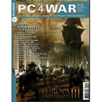PC4WAR N° 25 (Le Magazine des Jeux de Stratégie informatiques)