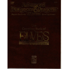 PHBR8 The Complete Book of Elves (jdr AD&D 2e édition en VO)