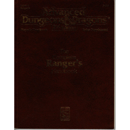 PHBR11 The Complete Ranger's Handbook (jdr AD&D 2e édition VO) 001