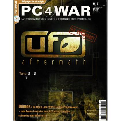 PC4WAR N° 7 (Le Magazine des Jeux de Stratégie informatiques) 001