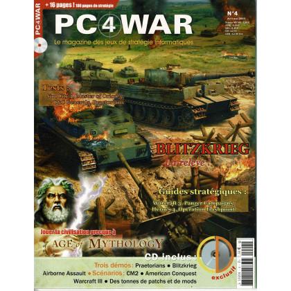 PC4WAR N° 4 (Le Magazine des Jeux de Stratégie informatiques) 001