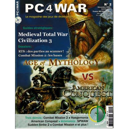 PC4WAR N° 2 (Le Magazine des Jeux de Stratégie informatiques) 001