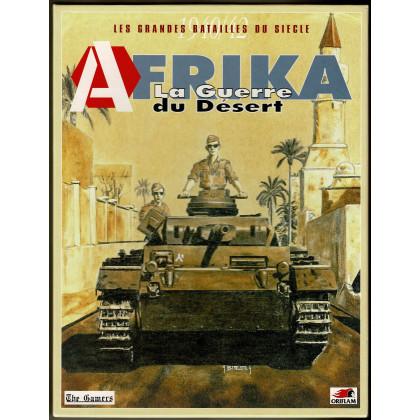 Afrika 1940-42 - La Guerre du Désert (wargame d'Oriflam en VF) 005