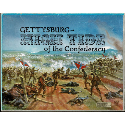 Gettysburg - High Tide of the Confederacy (wargame de Phoenix Enterprises Limited en VO) 001