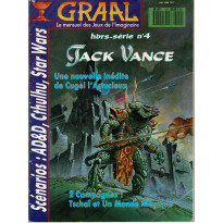 Graal N° 4 Hors-Série Jack Vance (Le mensuel des jeux de l'Imaginaire)