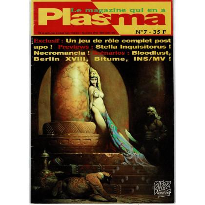Plasma N° 7 (magazine des jeux de rôles des éditions Siroz) 001