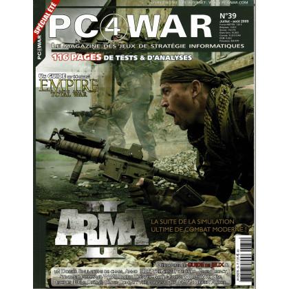 PC4WAR N° 39 (Le Magazine des Jeux de Stratégie informatiques) 001