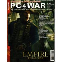 PC4WAR N° 36 (Le Magazine des Jeux de Stratégie informatiques)