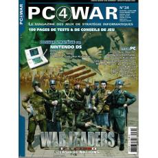 PC4WAR N° 34 (Le Magazine des Jeux de Stratégie informatiques)