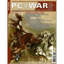 PC4WAR N° 33 (Le Magazine des Jeux de Stratégie informatiques)
