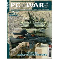 PC4WAR N° 32 (Le Magazine des Jeux de Stratégie informatiques)