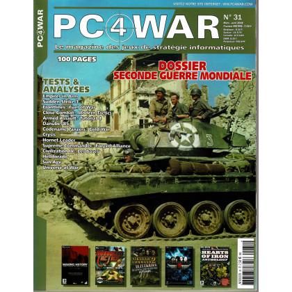 PC4WAR N° 31 (Le Magazine des Jeux de Stratégie informatiques) 001