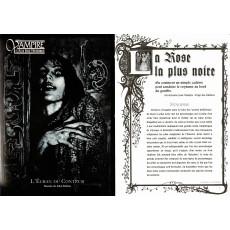 Vampire L'Age des Ténèbres - L'Ecran du Conteur et livret (jdr Hexagonal en VF)