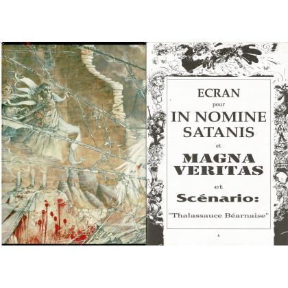 In Nomine Satanis / Magna Veritas - Ecran de Jeu & livret (jdr 2e édition en VF) 003
