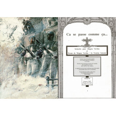In Nomine Satanis / Magna Veritas - Ecran de Jeu & livret (jdr 1ère édition en VF)