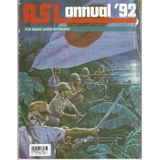ASL Annual '92 (wargame Advanced Squad Leader en VO)