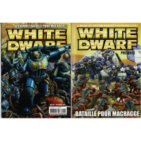 White Dwarf N° 126 Bataille pour Macragge (magazine de jeux de figurines Games Workshop en VF)