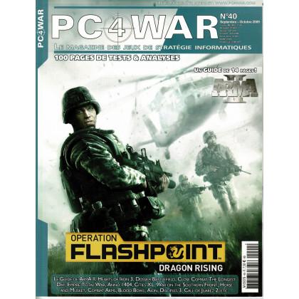 PC4WAR N° 40 (Le Magazine des Jeux de Stratégie informatiques) 001