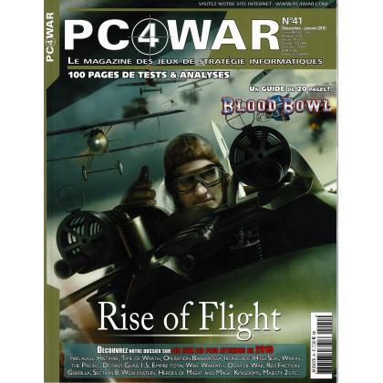 PC4WAR N° 41 (Le Magazine des Jeux de Stratégie informatiques) 001