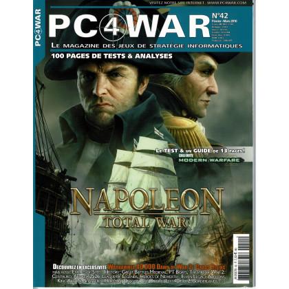 PC4WAR N° 42 (Le Magazine des Jeux de Stratégie informatiques) 001