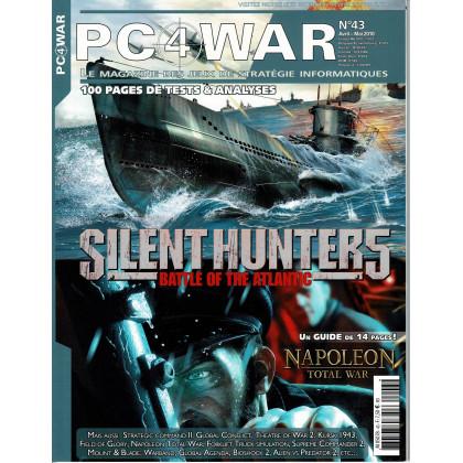 PC4WAR N° 43 (Le Magazine des Jeux de Stratégie informatiques) 001