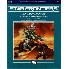 SF1 Volturne Planète mystérieuse (jdr Star Frontiers en VF)