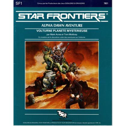 SF1 Volturne Planète mystérieuse (jdr Star Frontiers en VF) 002