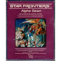 Star Frontiers Alpha Dawn - Jeu de rôle de science-fiction (jdr de TSR en VF)