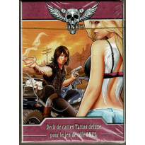 One% - Deck de 54 cartes Tattoo deluxe (jdr Game-Fu en VF)